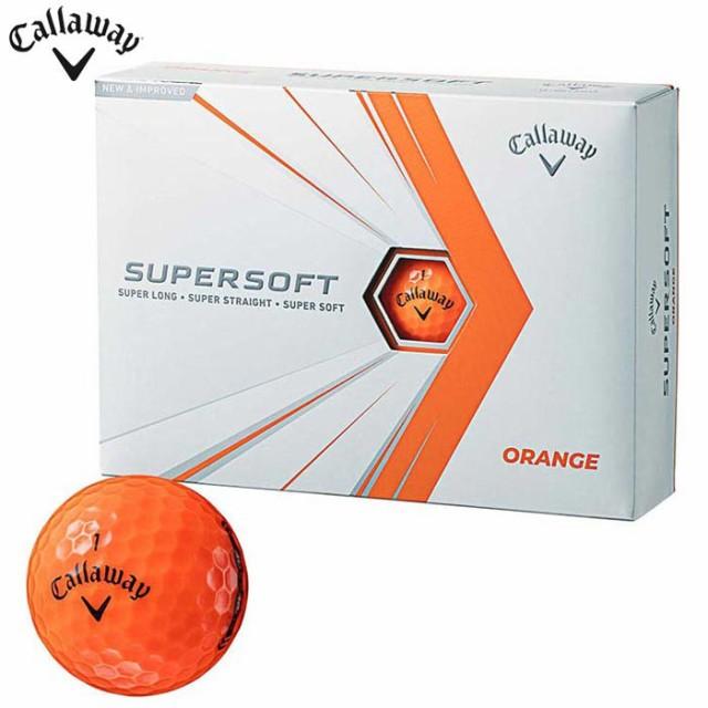 キャロウェイ SUPERSOFT スーパーソフト ゴルフボ...