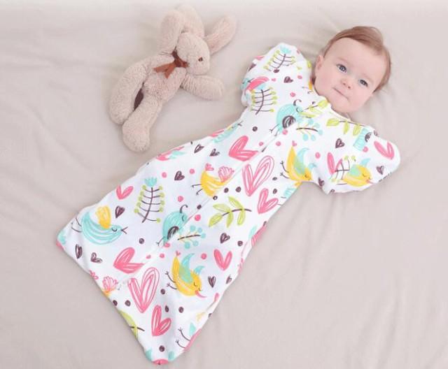 YQ-01239 赤ちゃんの夜泣き対策に奇跡のおくるみ...