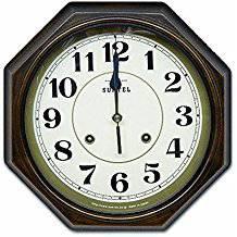 さんてる 電波連続秒針モデル DQL675/壁時計/壁掛...