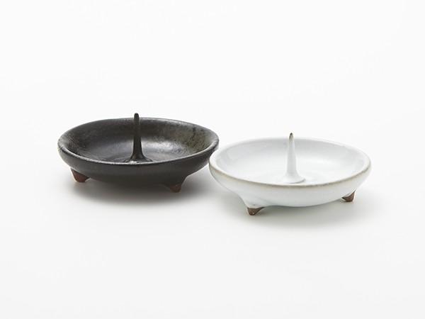 大與 陶器燭台 - 豆皿 / 美濃焼 火立て 燭台 仏具...