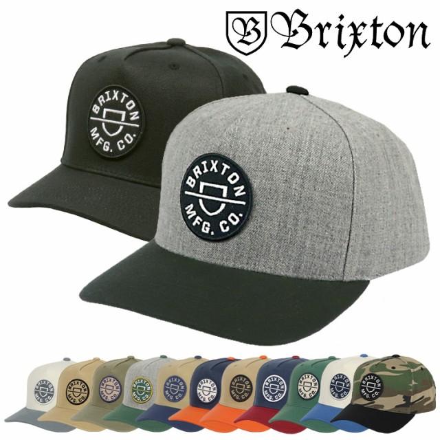 BRIXTON ブリクストン キャップ メンズ CREST C M...