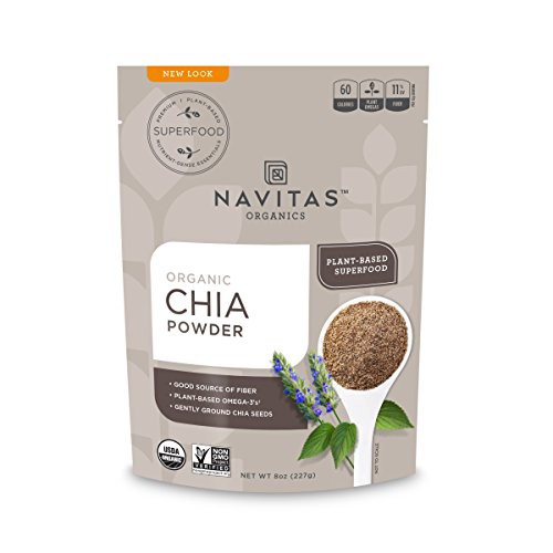 Navitas Naturals Chia Seed Sprouted Powder - 8...