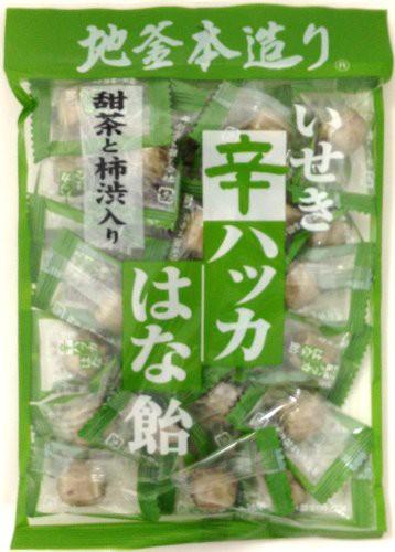 井関食品 甜茶と柿渋入り 辛ハッカはな飴 120g×1...