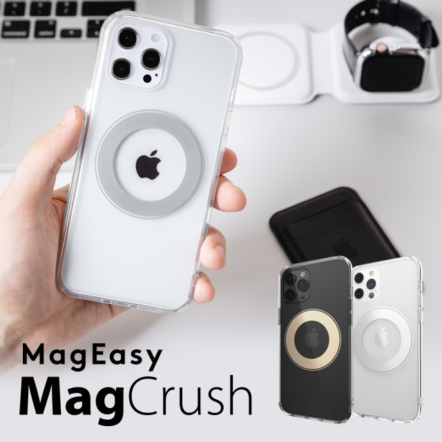 iPhone12 Pro /iPhone12 ケース クリア MagSafe ...