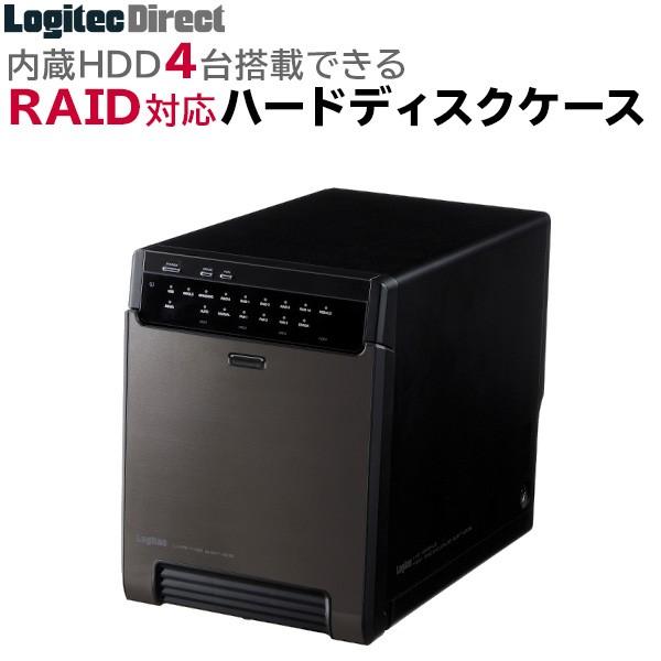 RAID機能 ハードディスクケース 4台搭載可能 SATA...