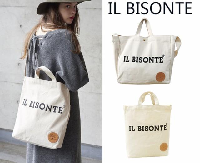 イルビゾンテ IL BISONTE トートバッグ ショルダ...