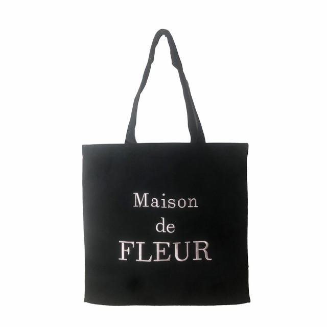 Maison de fleur トートバッグ キャンバス コット...