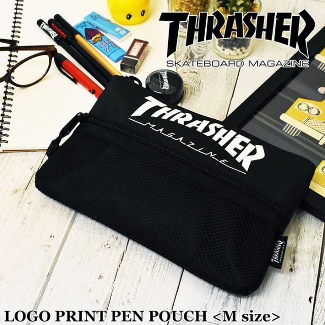 THRASHER スラッシャー ペンケース M サイズ SIZE...