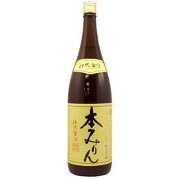 福来純 伝統製法熟成本みりん(1800ml)【白扇酒...