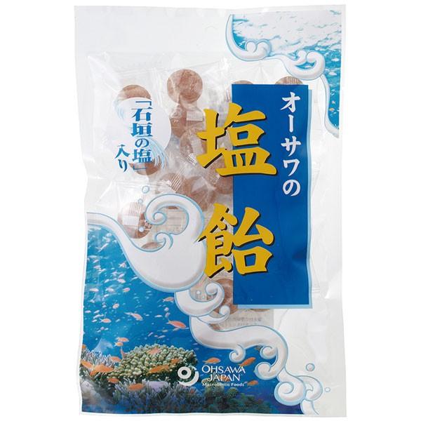 オーサワの塩飴(石垣の塩入り)(80g)【オーサ...