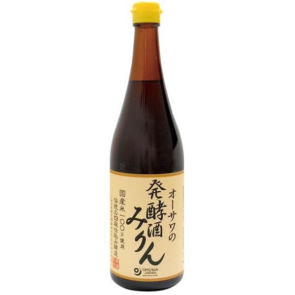 オーサワの発酵酒みりん(720ml)【オーサワジャ...
