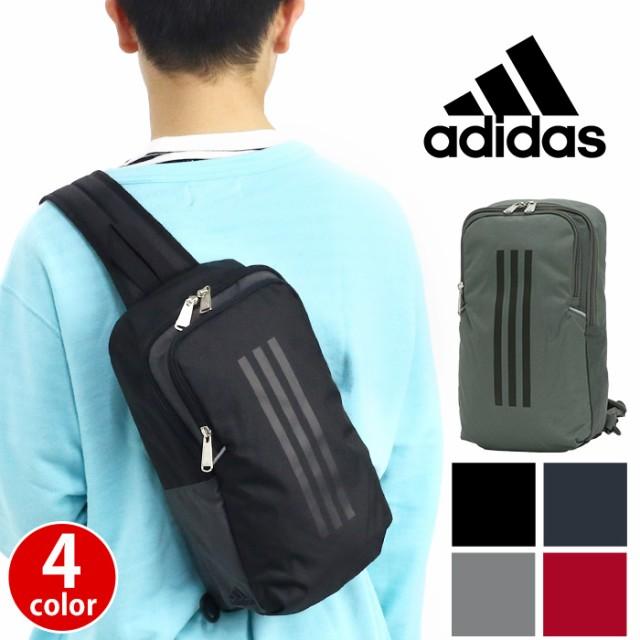 ボディバッグ adidas アディダス ワンショルダー ...
