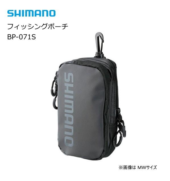シマノ フィッシングポーチ BP-071S ブラック MW...