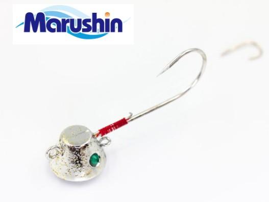 マルシン漁具 TRD一つテンヤ シルバーメッキ×ゴ...