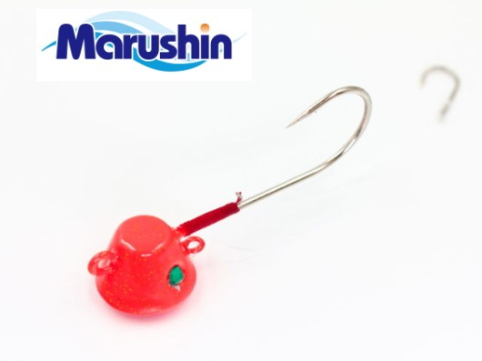 マルシン漁具 TRD一つテンヤ オレンジ×ゴールド...