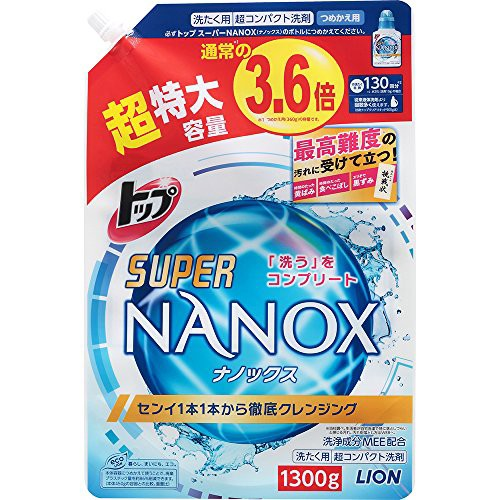 送料無料!【大容量】トップ スーパーナノックス ...