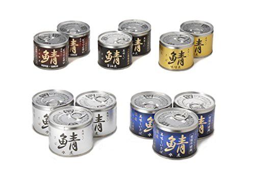送料無料!伊藤食品 美味しい鯖(さば) 缶詰 5種 ...