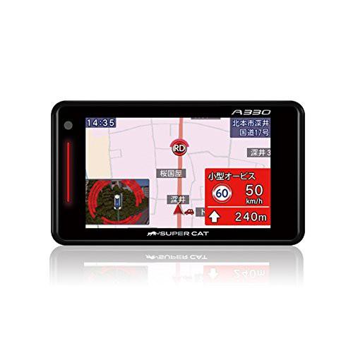 送料無料!SUPER CATユピテル3.6型OBDII対応GPSレ...