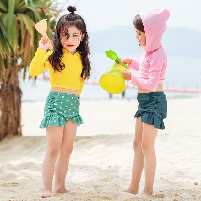 c0164a7b02a5b9 子供 水着 女の子 セパレート 子供水着 上下セット ビキニ 可愛い 女の子 送料無料