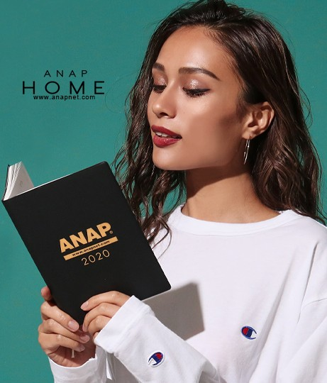 【50%OFF】ANAP2020ロゴシステム手帳【ANAP HOME...