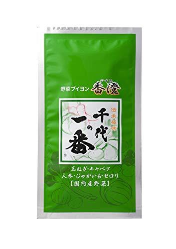 千代の一番 野菜ブイヨン 香澄 10包入×3袋