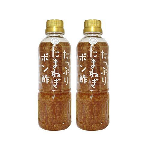 徳島産業 たっぷりたまねぎポン酢 400ml×2本