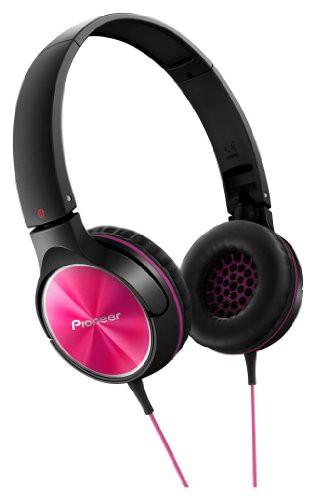 パイオニア Pioneer SE-MJ522 ヘッドホン 密閉型/オンイヤー/折りたたみ式 ピンク SE-MJ522-P  【国内正規品】