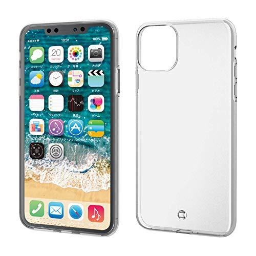 エレコム iPhone 11 Pro Max ケース ソフト 弾力...