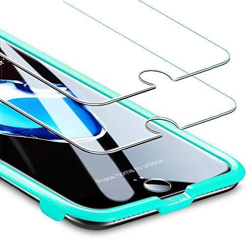 ESR iPhone 8 iPhone 7 用強化ガラスフィルム [2...