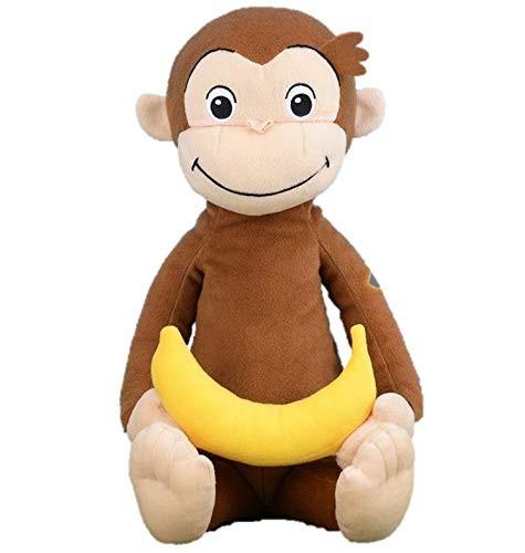 おさるのジョージ ぬいぐるみ メガジャンボ バナ...