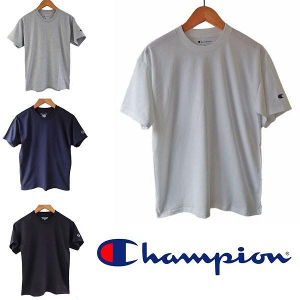 CHAMPION チャンピオン Tシャツ 無地メンズ ボー...
