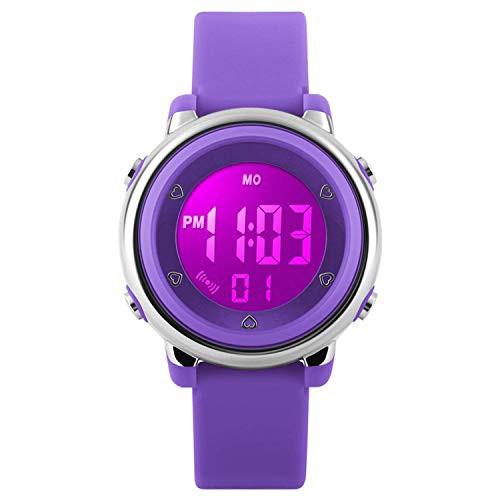 デジタル腕時計 子供 スポーツ腕時計 女の子 ...