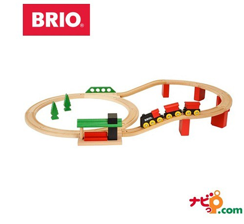 ブリオ BRIO 木のおもちゃ クラシックDXレールセ...