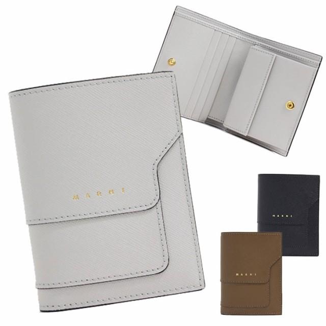 マルニ MARNI 二つ折り財布 2つ折り財布 コンパク...