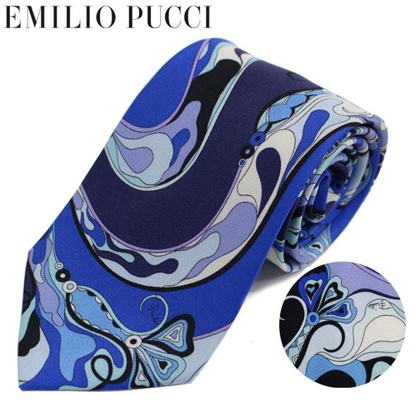 エミリオプッチ EMILIO PUCCI ネクタイ レギュラ...