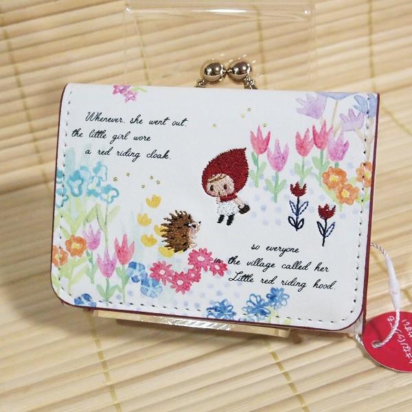 フェアリーテイル ミニ財布(赤ずきん)49716/花...