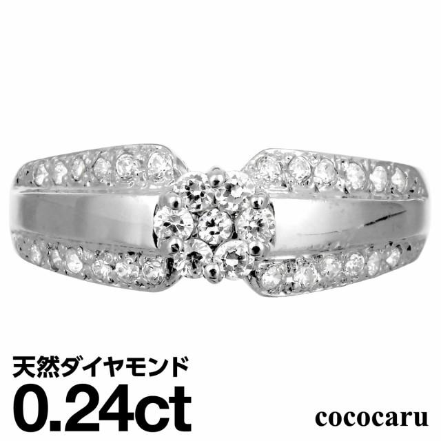 プラチナ ダイヤモンド リング プラチナ900 ファ...