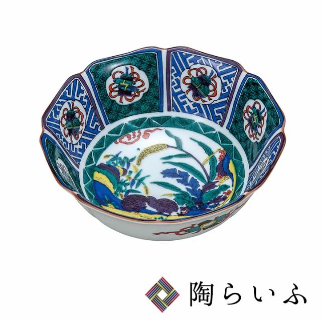 九谷焼 5.5号鉢 古九谷風<送料無料>和食器 鉢 ...
