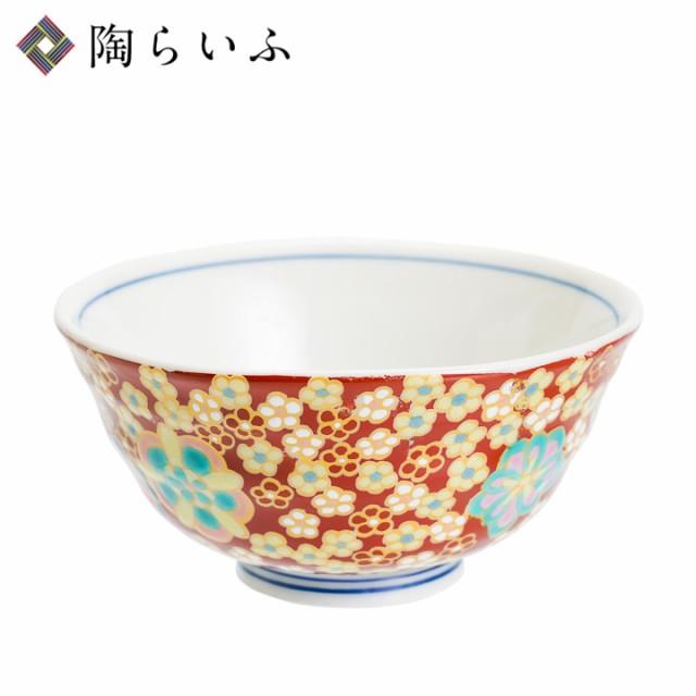 【九谷焼】小飯碗 小梅ちらし/暁窯<和食器 茶碗 ...