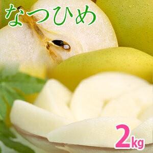 なつひめ2kg詰(5〜6玉入) 鳥取県産 梨 赤秀 送...