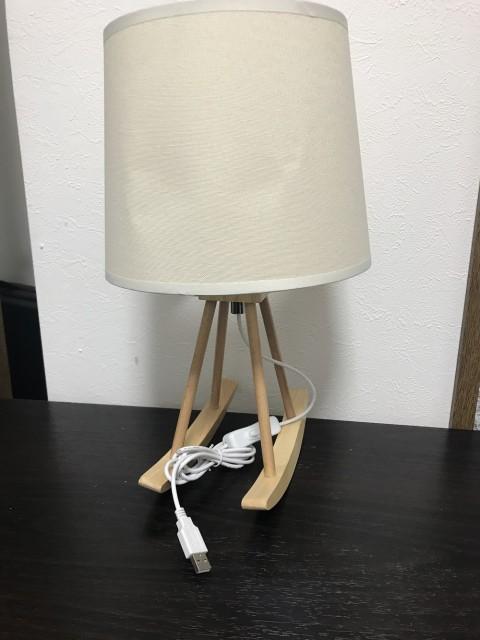 LEDスタンド ロッキングチェア風