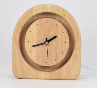 LEDライトスタンド 時計