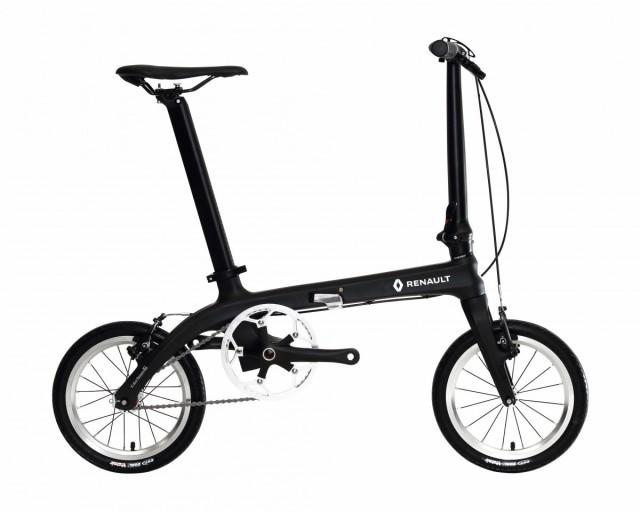 配送も店頭受取も可 配送先一都三県一部地域限定送料無料 2018年モデル 自転車 ルノー(RENAULT) カーボンフレーム 自転車 折りたたみ自