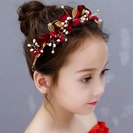 子供用 ティアラ カチューシャ 髪飾り 結婚式 発...