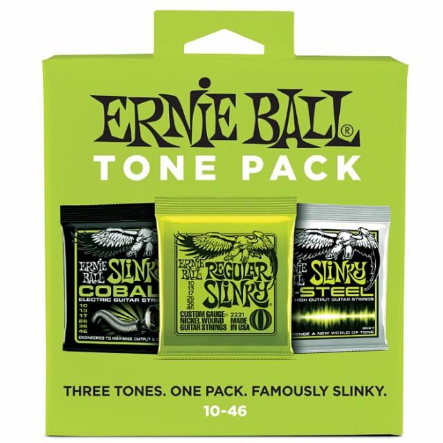 ERNIE BALL #3331 Regular Slinky Tone Pack 010-...
