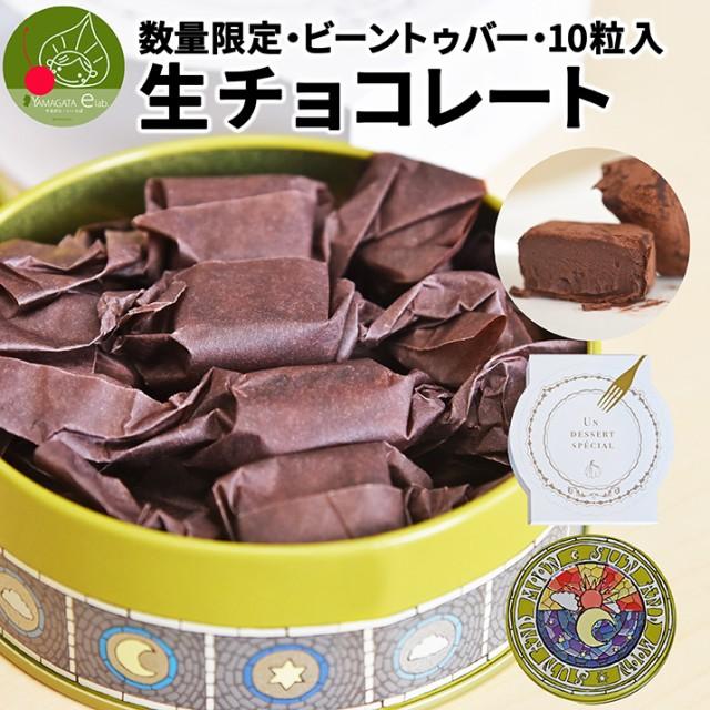 母の日 ギフト 生チョコレート 10粒 ビーントゥバ...
