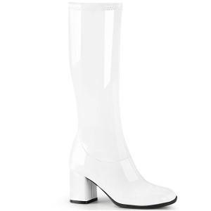 ファッション レディース ブーツ White Str. Pat ...