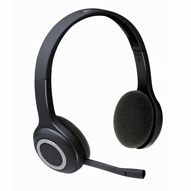 (海外からのお届け)ロジクール ヘッドセット パソコン用 H600r ステレオ USBレシーバー経由ワイヤレス接続 充電式 ノイズキャンセリン