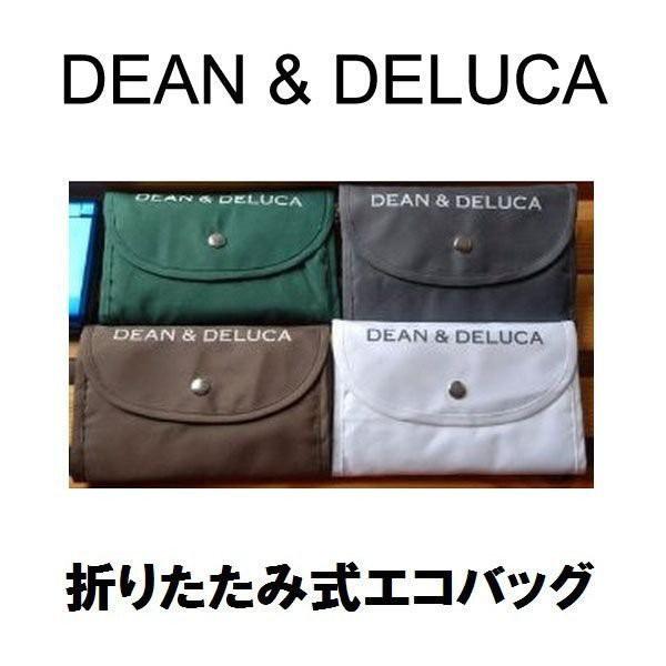 DEAN&DELUCAdean&deluca エコバッグ 折りたたみ式 ディーン&デルーカ キャンバストートバッグ トートバッグ折畳み可能