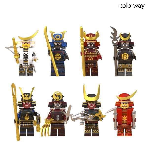 レゴ レゴブロック LEGO レゴミニフィグ サムライ...